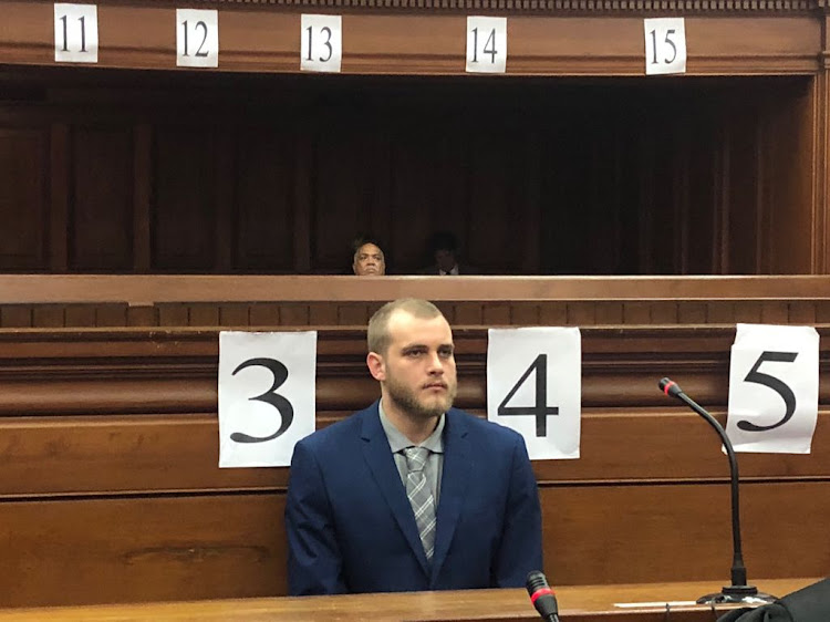 Henri van Breda in the Cape Town High Court on May 21 2018.