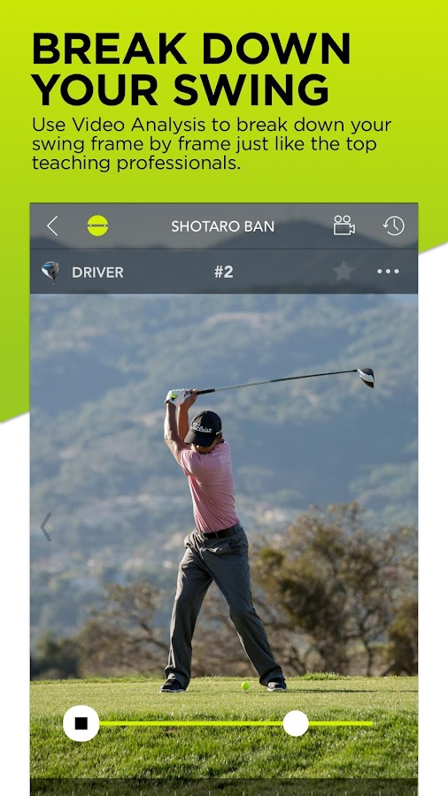 Zepp Golf Swing Analyzer- screenshot