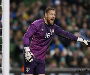 Ce gardien irlandais pourrait bien manquer le match contre la Belgique