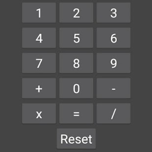 Basic Calculator - náhled