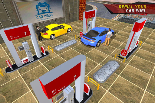 Gas Car Station Services: Highway Car Driver 1.0 screenshots 1