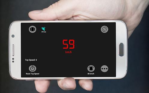 Digital Speedometer/GPS 100 % Accurate Speedometer - náhled