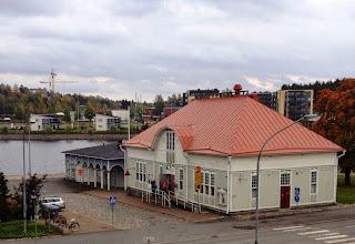 Photo: Pakkahuone Pielisjoen rannalla