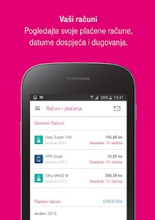 Moj Telekom HR- screenshot thumbnail