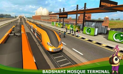Orange Line Metro Train Game: New Train Simulator - náhled
