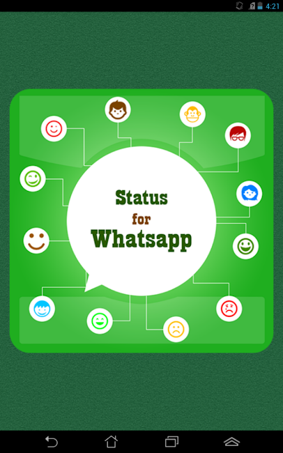 #14. Status for Whatsapp (Android)