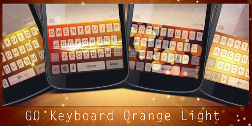 GO Keyboard Orange Light