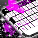 Purple Flame GO Keyboard icon