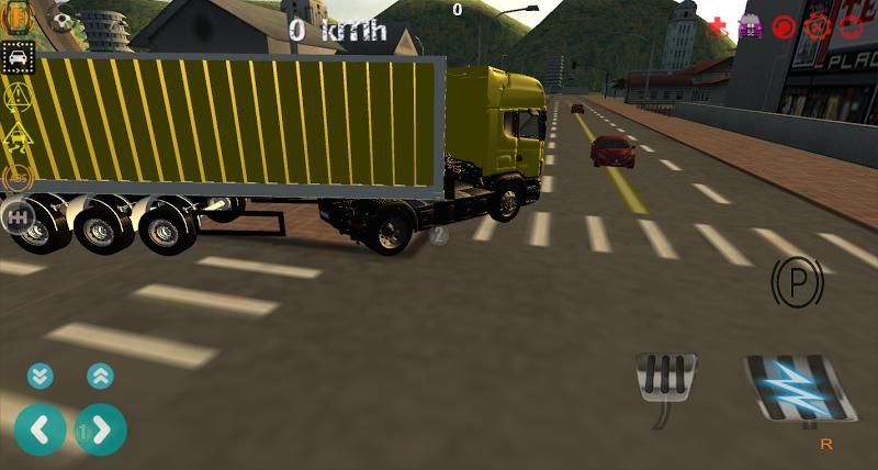 Скриншот Real Truck Driver 3D: USA