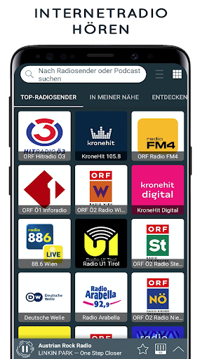 radio austria: online radio, fm radio screenshot 1