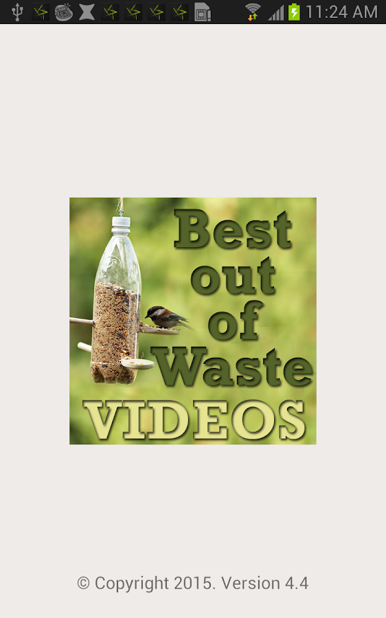 Best out of waste craft videos android apps on google play for Easy wealth out of waste
