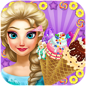 Snow Queen Ice Cream Maker - Cooking Game