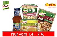 Angebot für Knorr Produkte - nur bei netto MD im Supermarkt - Knorr