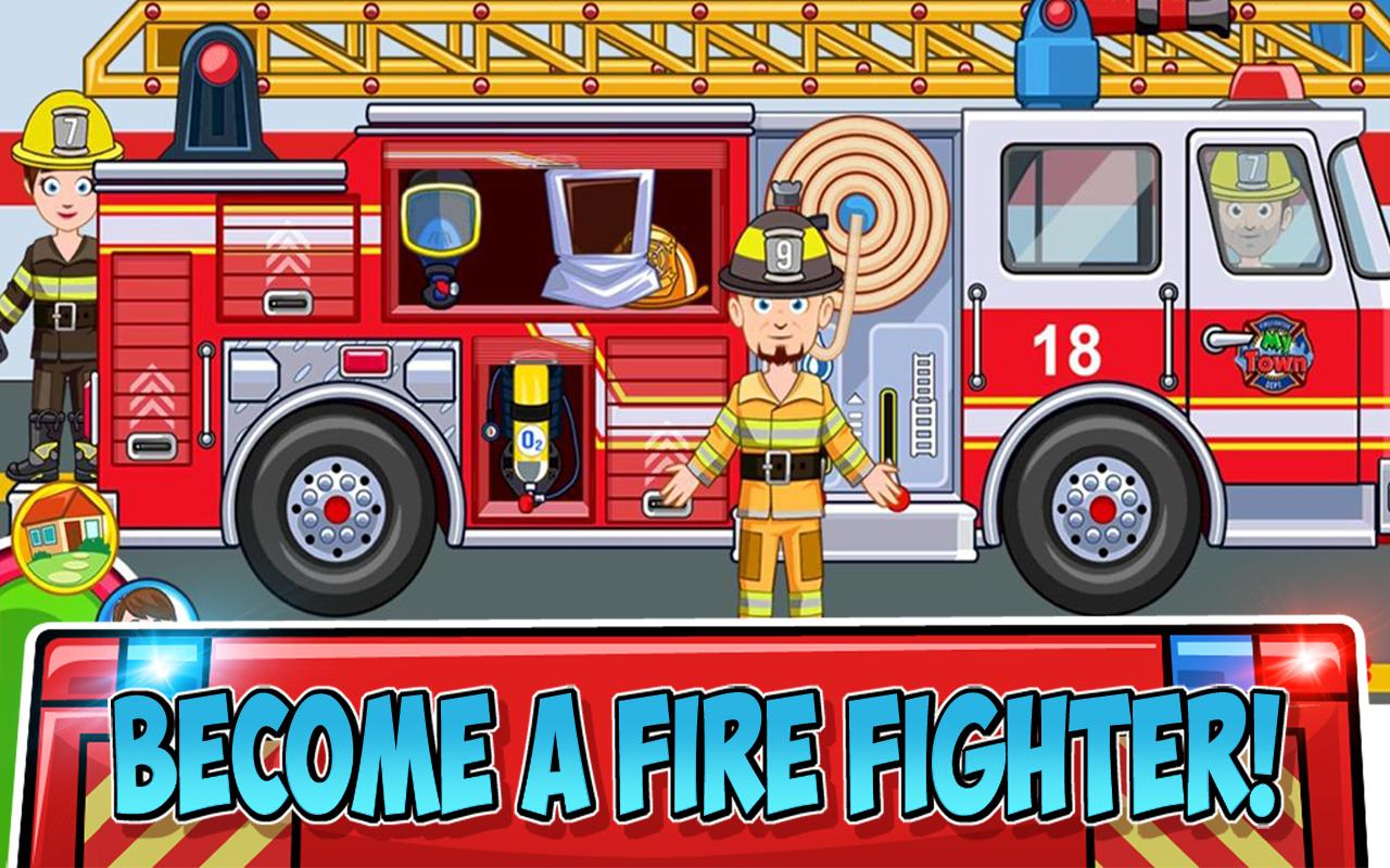 My Town : Fire station Rescue- screenshot