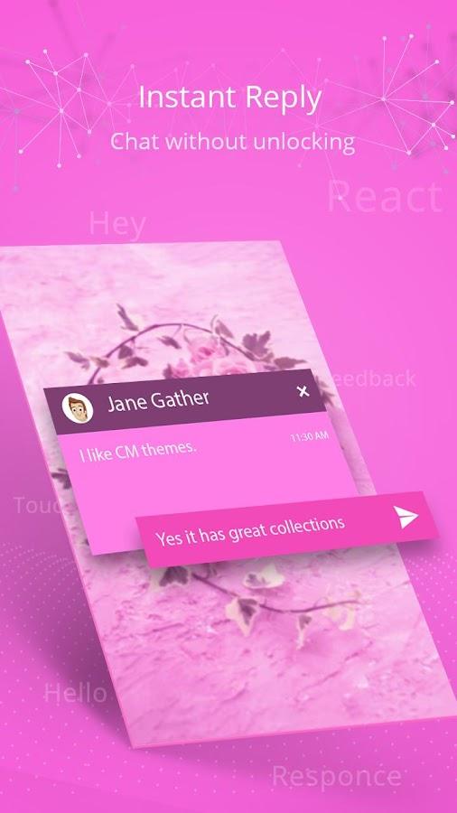 Screenshots of CM Locker Repair Privacy Risks for iPhone