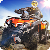 ATV Motocross Quad Trail Galaxy