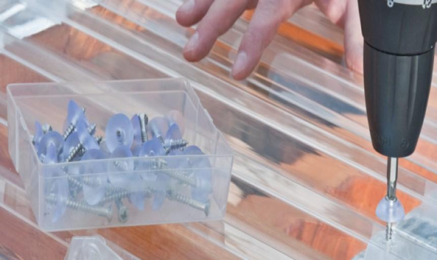 Tấm lợp lấy sáng thông minh có thiết kế linh động, dễ lắp đặt