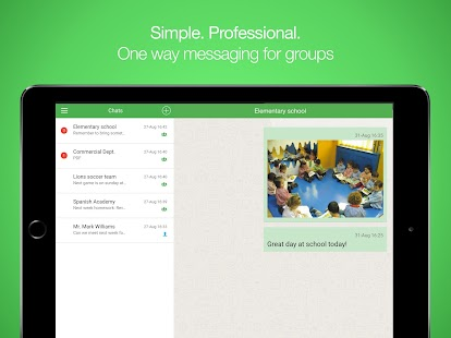 Groupnote Messenger- screenshot thumbnail