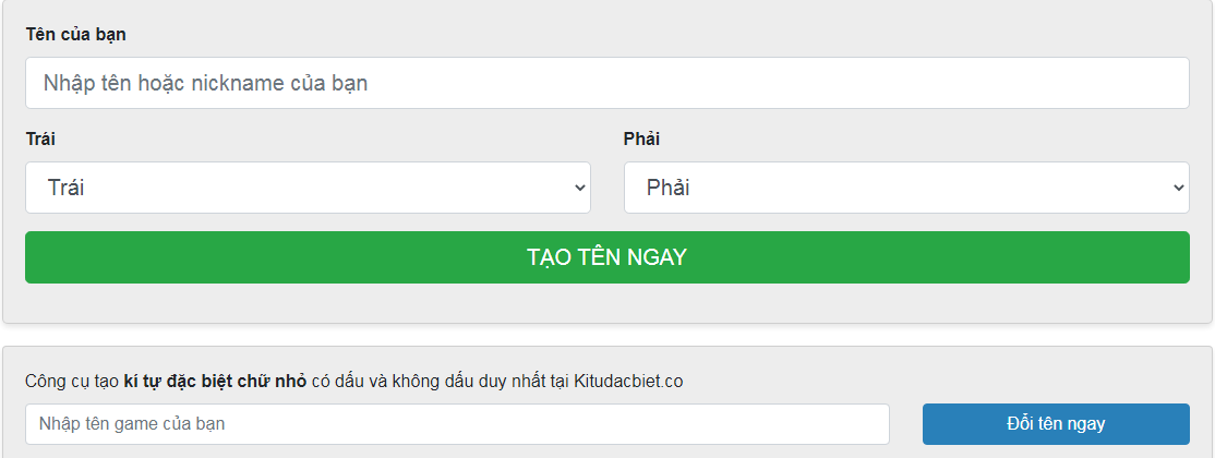 Cách thức sử dụng bảng kí tự đặc biệt với kitudacbiet.co dễ dàng