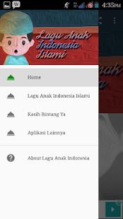 Lagu Anak Indonesia Islami Screenshot