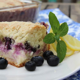 Blueberry Cream Cheese Crumb Cake