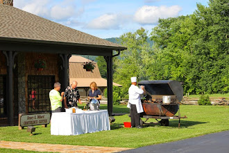 Photo: BBQ at Conference Center