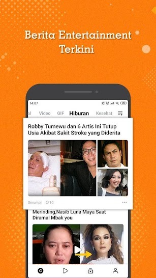 BaBe - Baca Berita screenshot for Android