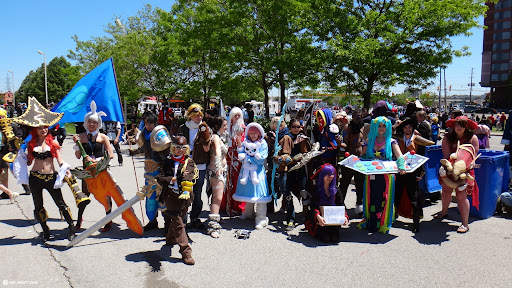 cosplay at anime north 2013 in Toronto, Ontario, Canada