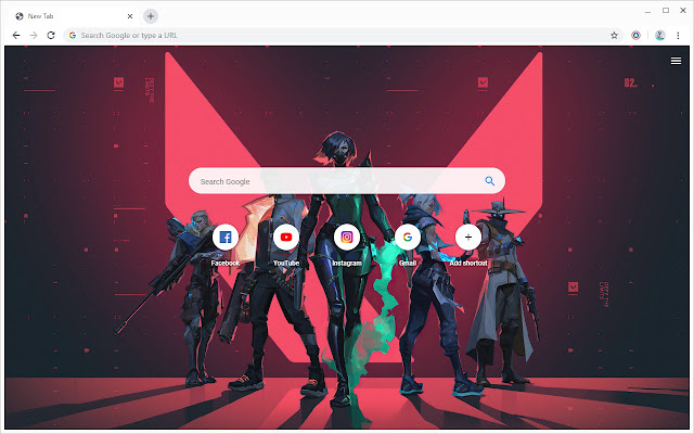 Valorant Wallpapers New Tab