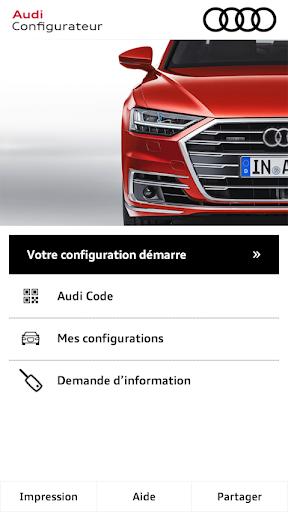 Audi Configurateur screenshot 1