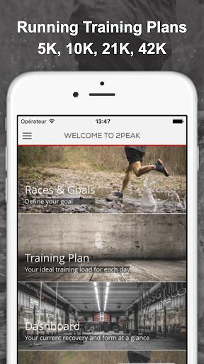 Run2PEAK Running Training Plan