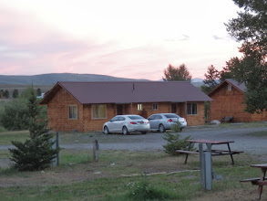 Photo: Slide Inn Cabins- on the banks of the Madison River