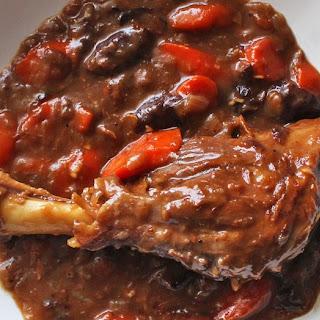 Braised Guinness Lamb Shank Stew