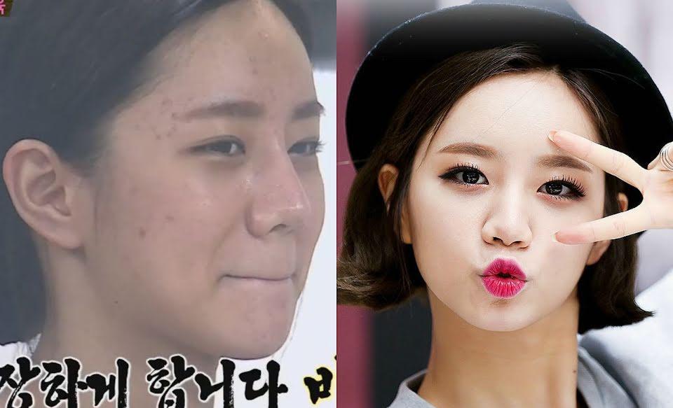радуйтесь корейские айдолы без макияжа фото все оленьих