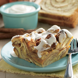 Frosted Cinnamon Roll Bake.