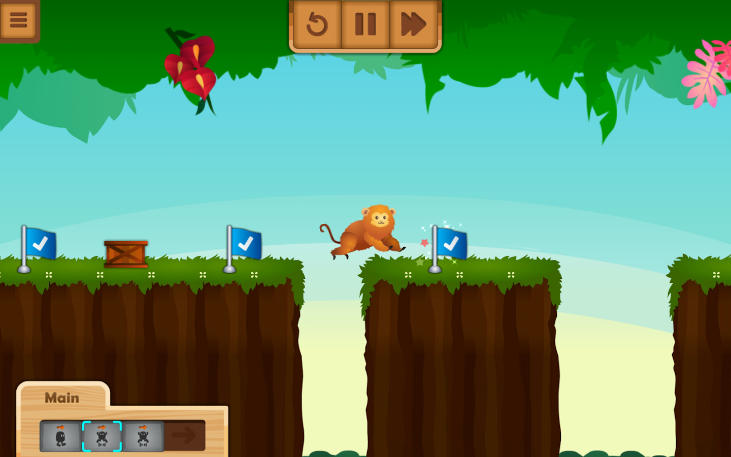 Save the Animals : Coding Game- screenshot