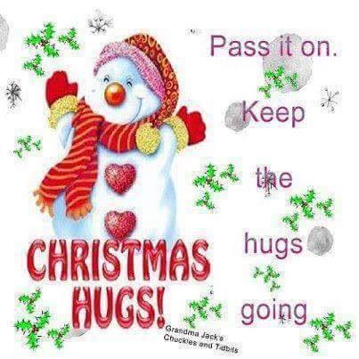 Resultado de imagen de christmas hugs and kisses