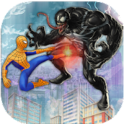 Venom Super Hero : amazing fight vs spider Hero 1.0