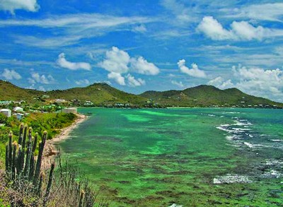 Photo: Typical view in the Caribbean
