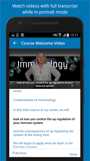 Screenshot 3 for EdX's Android app'