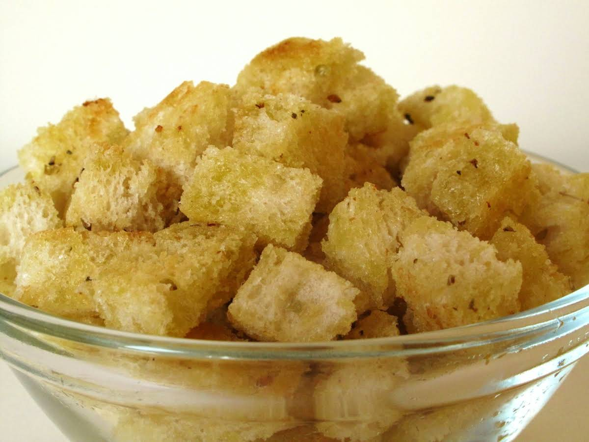 10 Best Homemade Croutons with Olive Oil Recipes