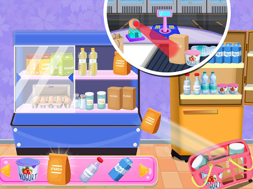 Donuts Cooking Factory: Baking Dessert in Kitchen android2mod screenshots 3