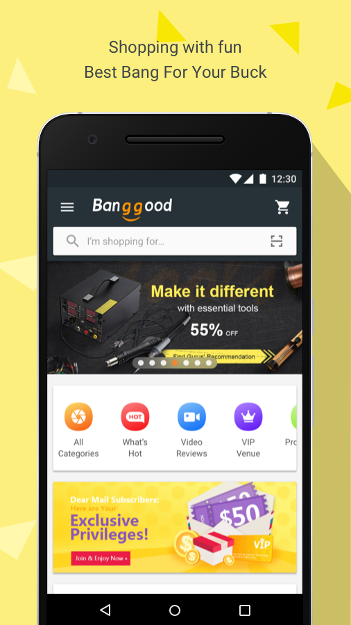 Banggood - Shopping With Fun- screenshot