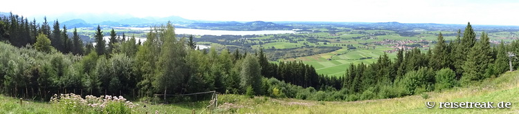 Panoramablick vom Buchenberg, für Großbild bitte klicken