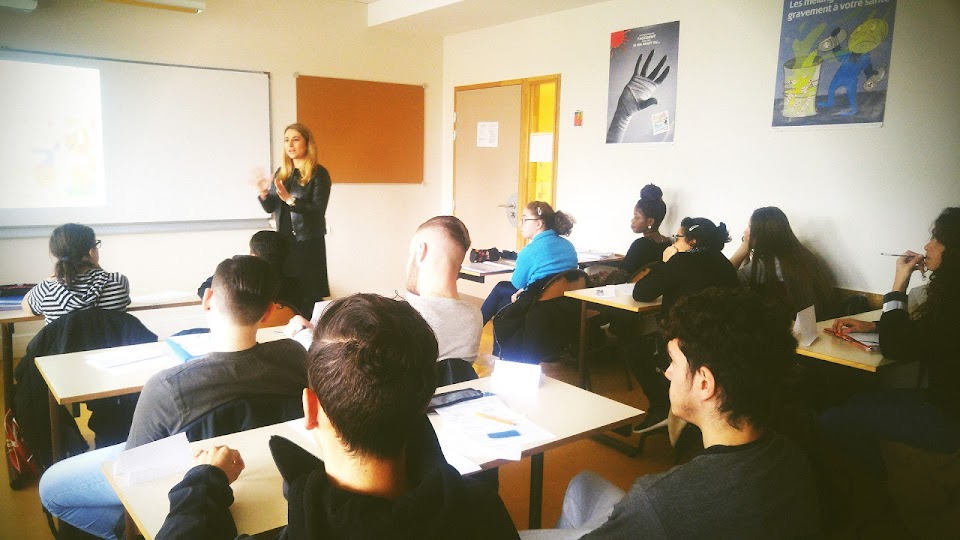 Témoignage de Emilie Debertolis  au Lycée professionnel Héléne Boucher de Venissieux