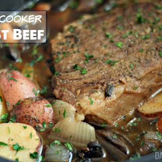 Slow-Cooker Roast Beef.