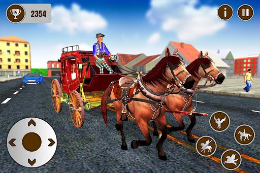 Flying Horse Taxi City Transport: Horse Games 2020 2.2 screenshots 5