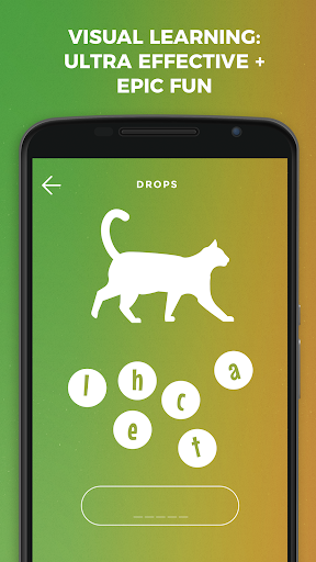 Drops: Learn French language and words for free screenshot 1
