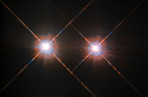 Hubble's Best Image of Alpha Centauri A and B