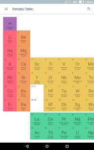 Virtual periodic table 2018 pro v12 paid latest apk4free periodic table 2018 pro screenshot urtaz Gallery